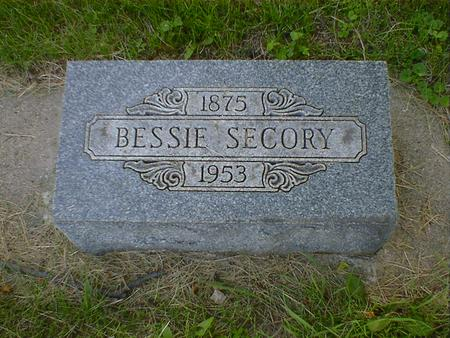 SECORY, BESSIE - Cerro Gordo County, Iowa | BESSIE SECORY