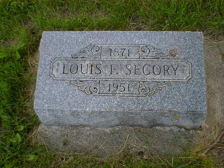 SECORY, LOUIS F. - Cerro Gordo County, Iowa | LOUIS F. SECORY