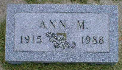 SEVERSON, ANN M. - Cerro Gordo County, Iowa   ANN M. SEVERSON