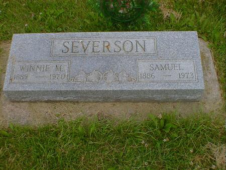 SEVERSON, WINNIE M. - Cerro Gordo County, Iowa | WINNIE M. SEVERSON