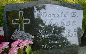 SHAHAN, DONALD E. - Cerro Gordo County, Iowa | DONALD E. SHAHAN