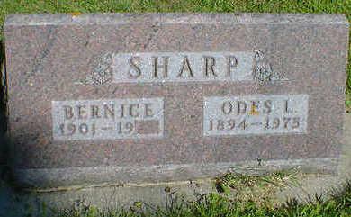 SHARP, ODES L. - Cerro Gordo County, Iowa | ODES L. SHARP