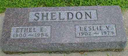 SHELDON, LESLIE V. - Cerro Gordo County, Iowa | LESLIE V. SHELDON
