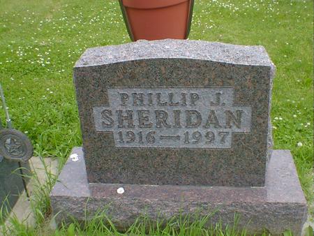SHERIDAN, PHILLIP J. - Cerro Gordo County, Iowa | PHILLIP J. SHERIDAN