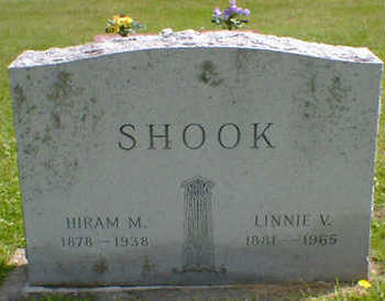 SHOOK, LINNIE - Cerro Gordo County, Iowa | LINNIE SHOOK
