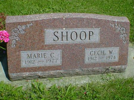 SHOOP, CECIL W. - Cerro Gordo County, Iowa | CECIL W. SHOOP
