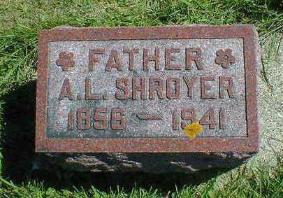 SHROYER, A.  L. - Cerro Gordo County, Iowa   A.  L. SHROYER