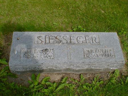 SIESSEGER, JOHN H. - Cerro Gordo County, Iowa | JOHN H. SIESSEGER