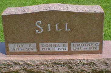 SILL, JOY E. - Cerro Gordo County, Iowa | JOY E. SILL