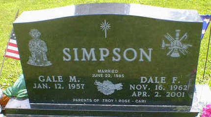 SIMPSON, DALE F. - Cerro Gordo County, Iowa | DALE F. SIMPSON