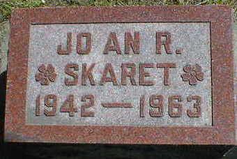SKARET, JOAN R. - Cerro Gordo County, Iowa   JOAN R. SKARET