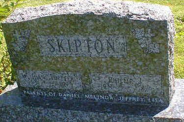 SKIPTON, W. JOAN - Cerro Gordo County, Iowa   W. JOAN SKIPTON