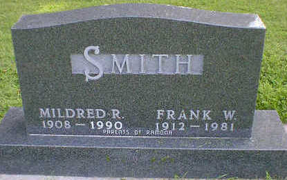 SMITH, MILDRED R. - Cerro Gordo County, Iowa | MILDRED R. SMITH