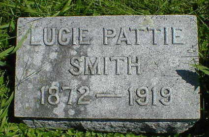 PATTIE SMITH, LUCIE - Cerro Gordo County, Iowa | LUCIE PATTIE SMITH