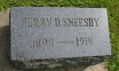 SNEESBY, PERRY D. - Cerro Gordo County, Iowa   PERRY D. SNEESBY