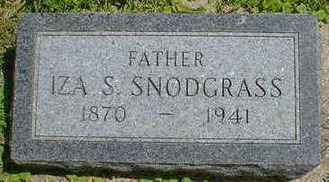 SNODGRASS, IZA S. - Cerro Gordo County, Iowa | IZA S. SNODGRASS