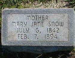 SNOW, MARY JANE - Cerro Gordo County, Iowa | MARY JANE SNOW