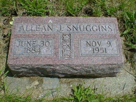 SNUGGINS, ALLEAN J. - Cerro Gordo County, Iowa | ALLEAN J. SNUGGINS