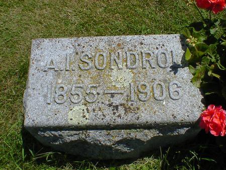 SONDROL, A. I. - Cerro Gordo County, Iowa | A. I. SONDROL