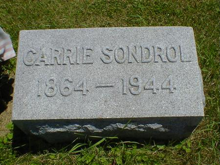 SONDROL, CARRIE - Cerro Gordo County, Iowa | CARRIE SONDROL