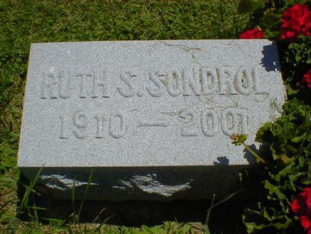 SONDROL, RUTH S. (SANDERSON) - Cerro Gordo County, Iowa | RUTH S. (SANDERSON) SONDROL