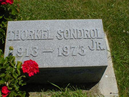 SONDROL, THORKEL JR. - Cerro Gordo County, Iowa | THORKEL JR. SONDROL