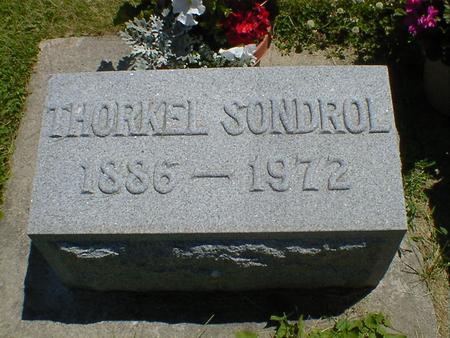 SONDROL, THORKEL - Cerro Gordo County, Iowa   THORKEL SONDROL