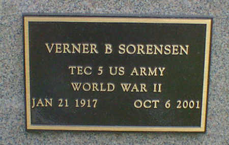 SORENSEN, VERNER B. - Cerro Gordo County, Iowa | VERNER B. SORENSEN
