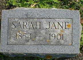SPARKS, SARAH JANE - Cerro Gordo County, Iowa | SARAH JANE SPARKS
