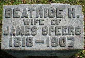 SPEERS, BEATRICE H. - Cerro Gordo County, Iowa | BEATRICE H. SPEERS