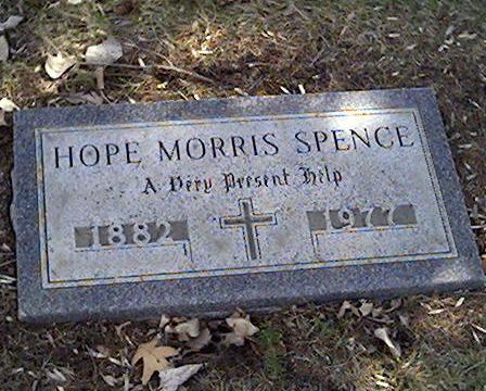 SPENCE, HOPE MORRIS - Cerro Gordo County, Iowa | HOPE MORRIS SPENCE