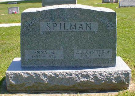 SPILMAN, ALEXANDER A. - Cerro Gordo County, Iowa | ALEXANDER A. SPILMAN