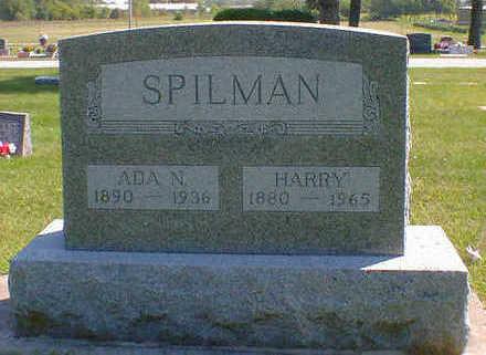 SPILMAN, ADA N. - Cerro Gordo County, Iowa | ADA N. SPILMAN
