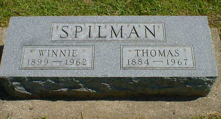 SPILMAN, THOMAS - Cerro Gordo County, Iowa | THOMAS SPILMAN