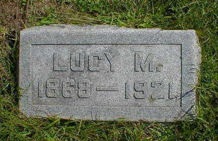 STANFIELD, LUCY M. - Cerro Gordo County, Iowa | LUCY M. STANFIELD