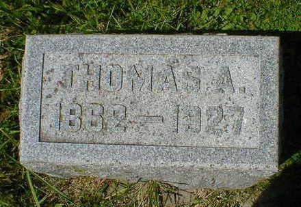 STANFIELD, THOMAS A. - Cerro Gordo County, Iowa   THOMAS A. STANFIELD