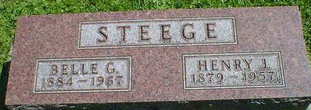 STEEGE, HENRY J. - Cerro Gordo County, Iowa | HENRY J. STEEGE