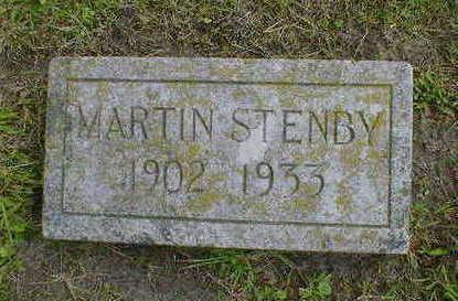 STENBY, MARTIN - Cerro Gordo County, Iowa | MARTIN STENBY