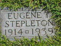 STEPLETON, EUGENE T. - Cerro Gordo County, Iowa   EUGENE T. STEPLETON