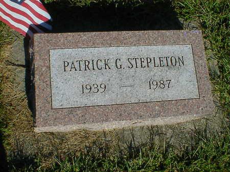 STEPLETON, PATRICK G. - Cerro Gordo County, Iowa | PATRICK G. STEPLETON