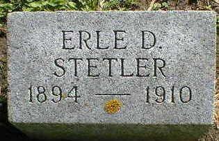 STETLER, ERLE D. - Cerro Gordo County, Iowa   ERLE D. STETLER
