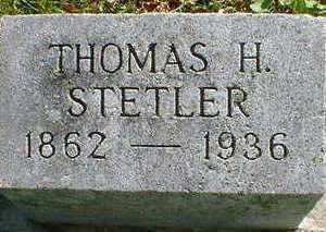 STETLER, THOMAS H. - Cerro Gordo County, Iowa | THOMAS H. STETLER