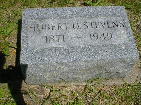 STEVENS, HUBERT O. - Cerro Gordo County, Iowa | HUBERT O. STEVENS