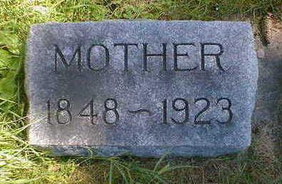 STEVENS, MOTHER - Cerro Gordo County, Iowa   MOTHER STEVENS