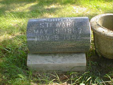 STEWART, JOHN H. - Cerro Gordo County, Iowa | JOHN H. STEWART