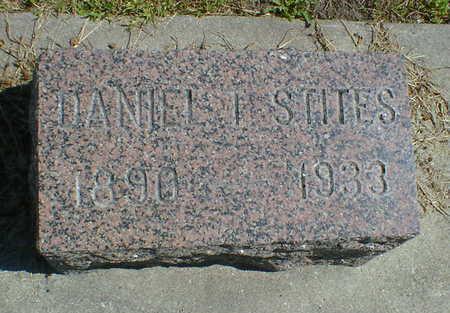 STITES, DANIEL I. - Cerro Gordo County, Iowa   DANIEL I. STITES