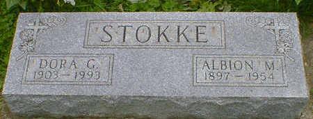 STOKKE, ALBION M. - Cerro Gordo County, Iowa | ALBION M. STOKKE