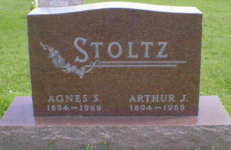 STOLTZ, AGNES S. - Cerro Gordo County, Iowa   AGNES S. STOLTZ