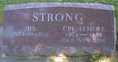 STRONG, ELMER E. - Cerro Gordo County, Iowa | ELMER E. STRONG