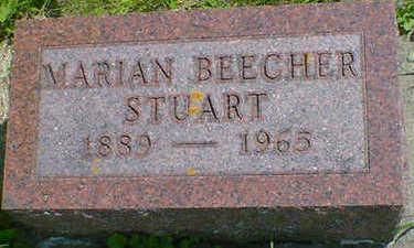 BEECHER STUART, MARIAN - Cerro Gordo County, Iowa | MARIAN BEECHER STUART